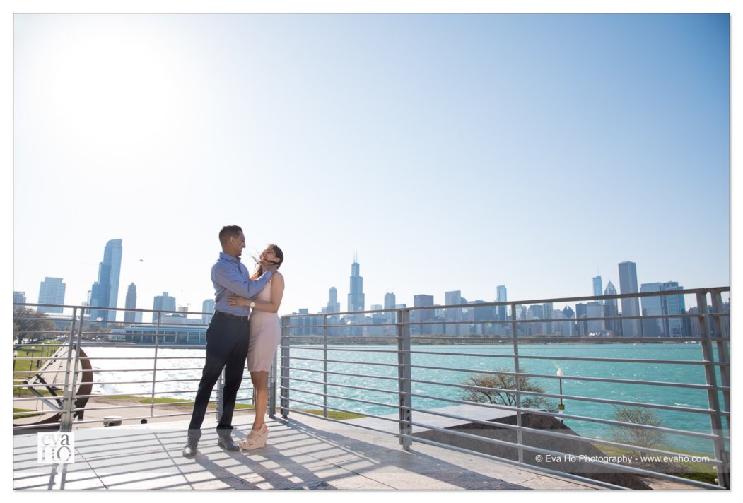 Surprise Proposal at the Adler Planetarium