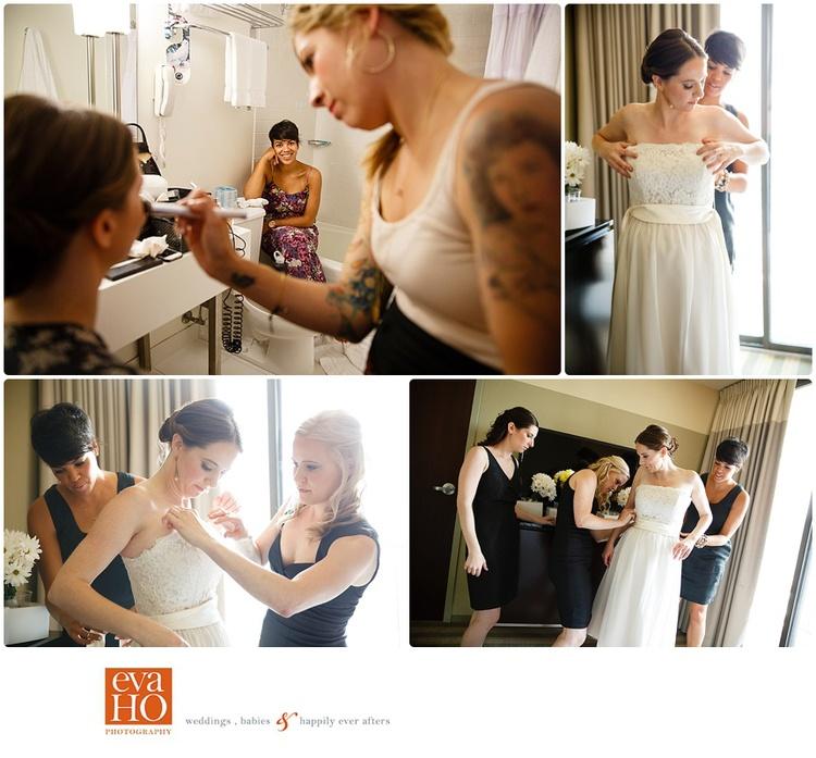 Revolution Brewing Wedding Getting Ready
