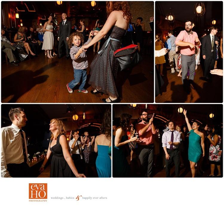Revoluion Brewing Wedding Reception Guests Dancing