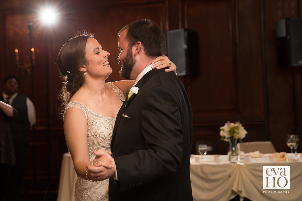 Maggiano's Little Italy Wedding Reception - First Dance as Husband and Wife