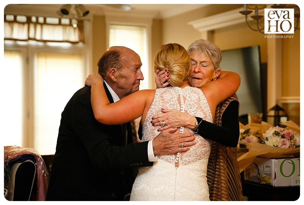 Greenhouse Loft Wedding grandparents hug