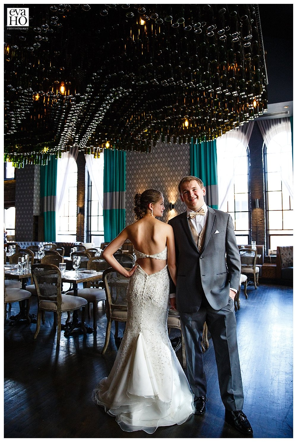 The newlywed at The Boarding House Chicago.