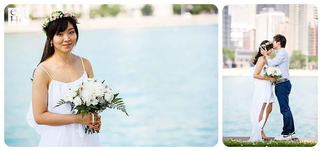 The bride-to-be looked gorgeous with her floral crown!