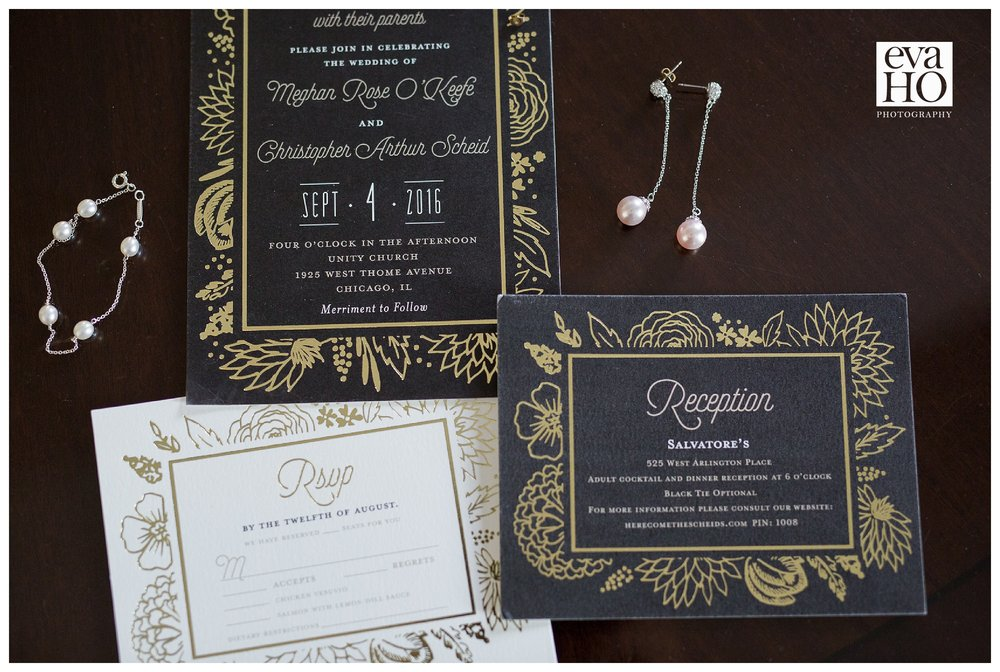 Save the date! Wedding invitation for Meghan and Chris' big day!