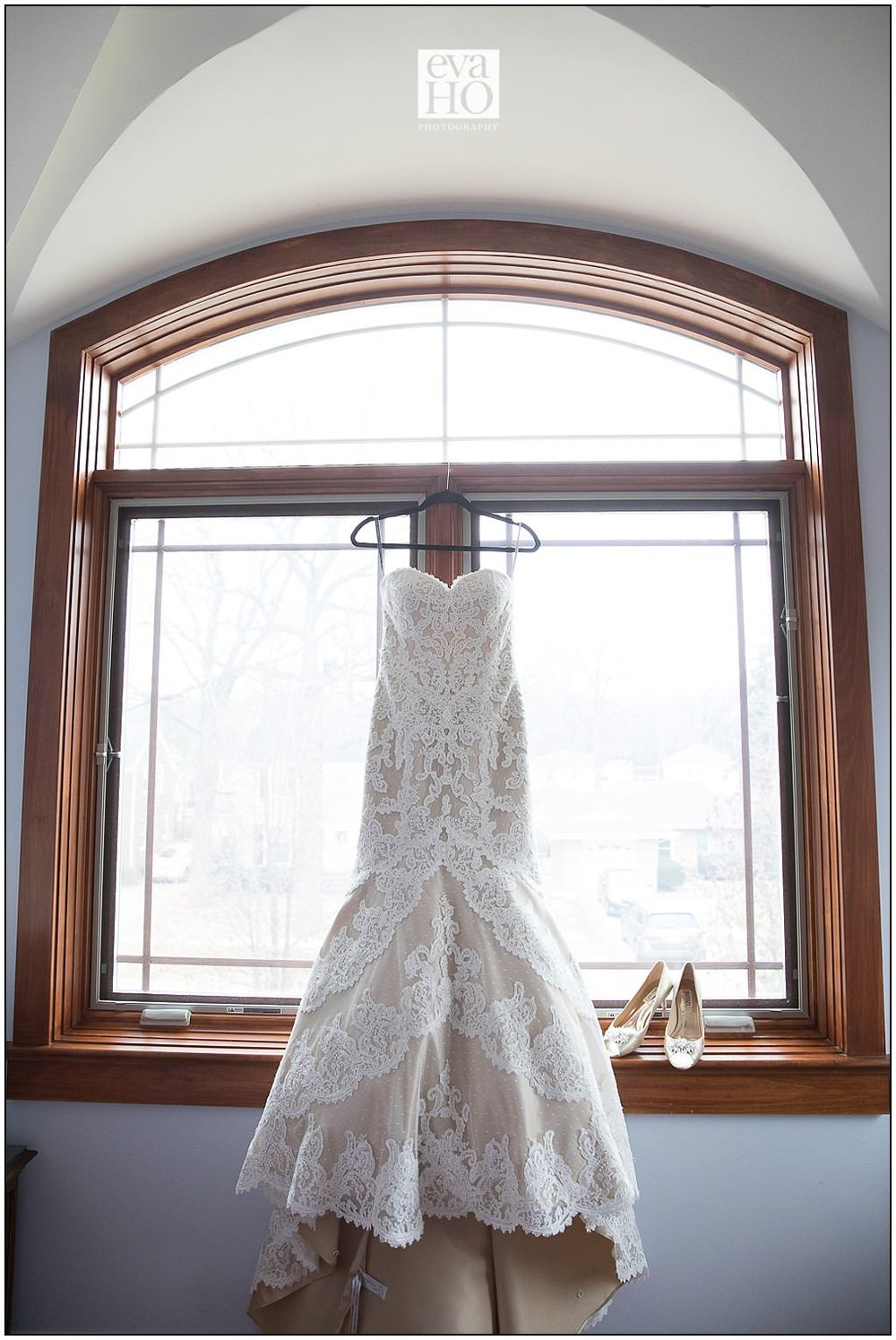 This dress! I have no words. It was so stunning on the hanger, but even more stunning on the bride!