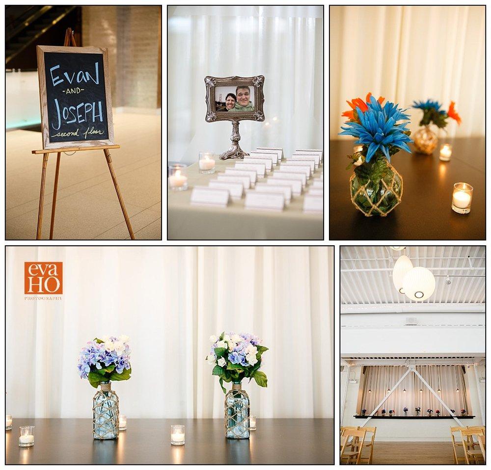 Beautiful details adorn the Chicago Logan Square Greenhouse Loft wedding venue