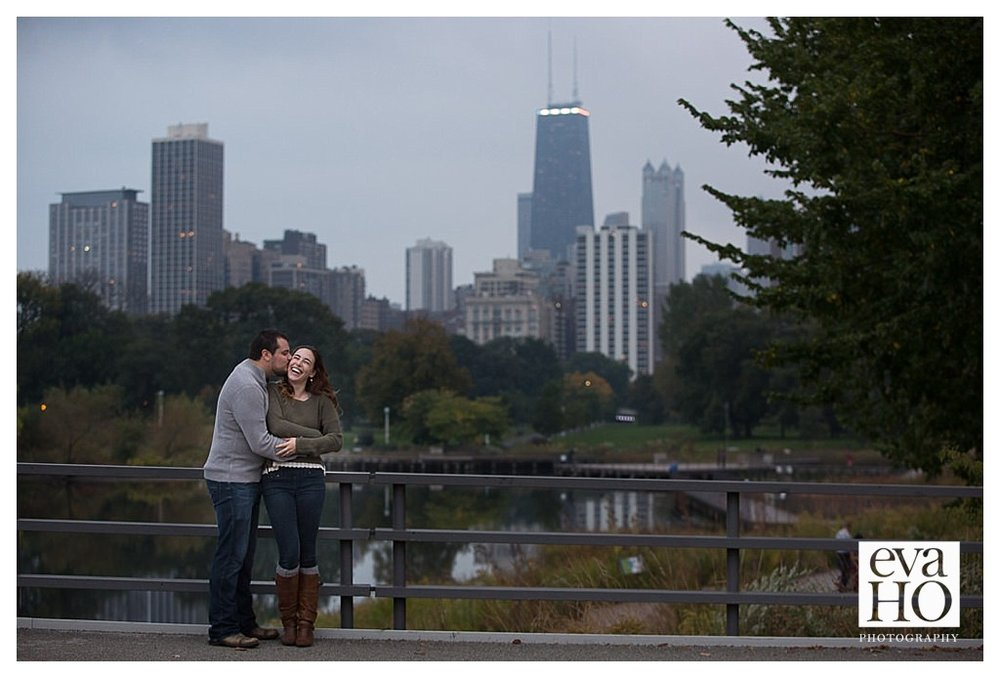 Nothing beats the view from the bridge in Lincoln Park!