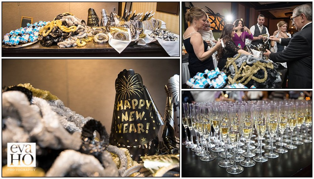 Champagne and party hats...is there a better way to ring in the New Year?