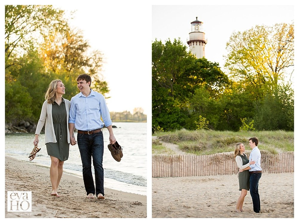 Lighthouse Beach in Evanston is always a beautiful spot!