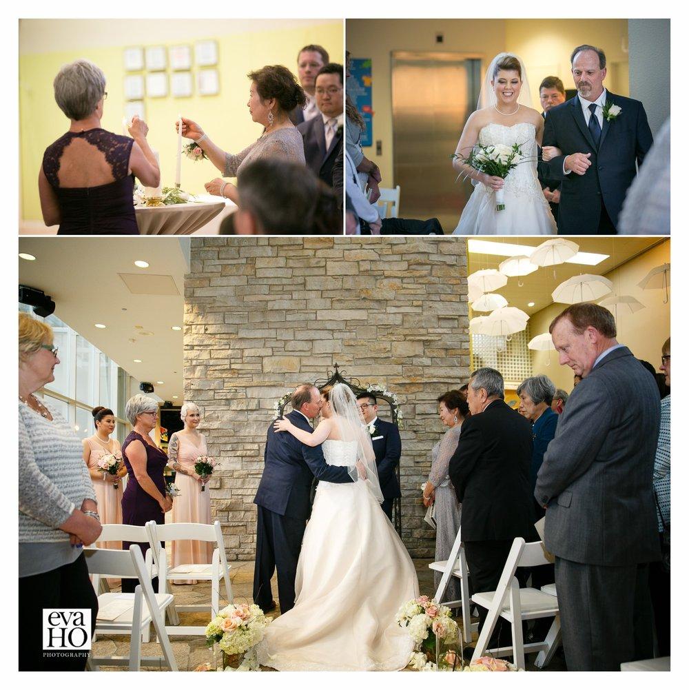 The beautiful ceremony