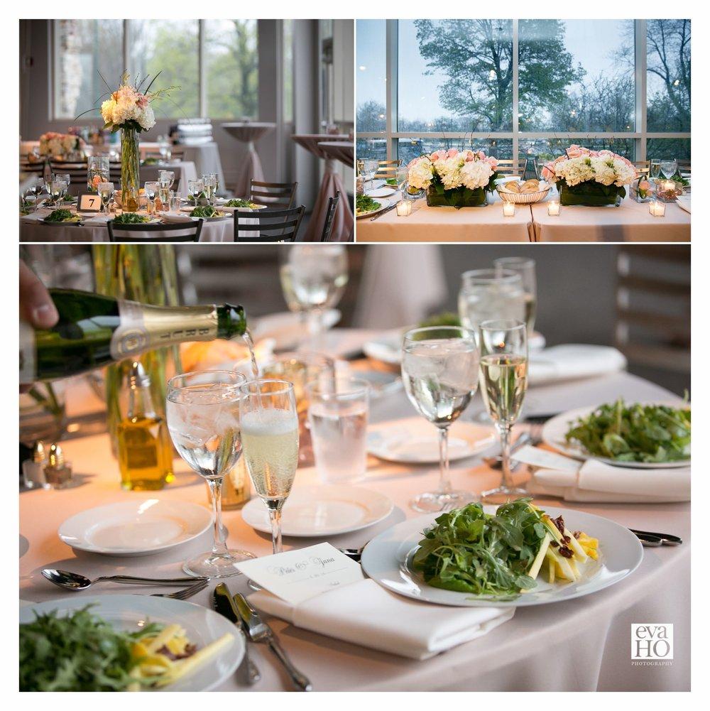 Peggy Notebaert Wedding Dinner Reception