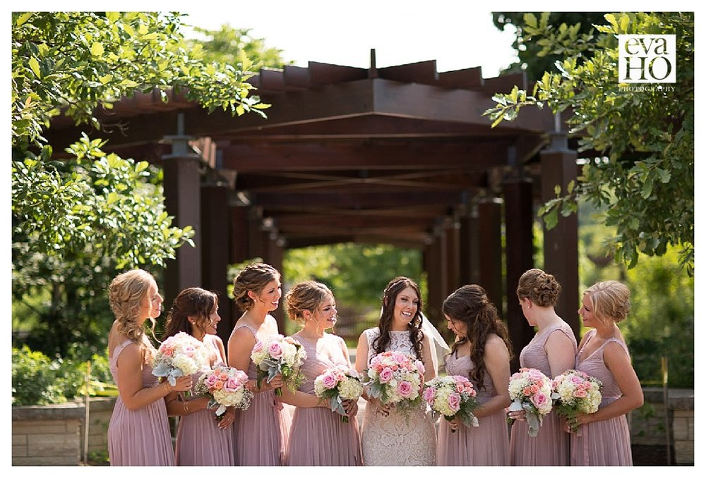 It was easy to see the special bond Kara has with each and every one of her bridesmaids.