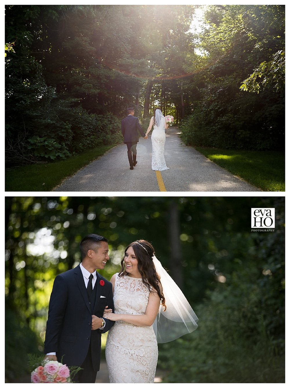 There was no shortage of great shots from their wedding. Independence Grove is always beautiful in the summer time.