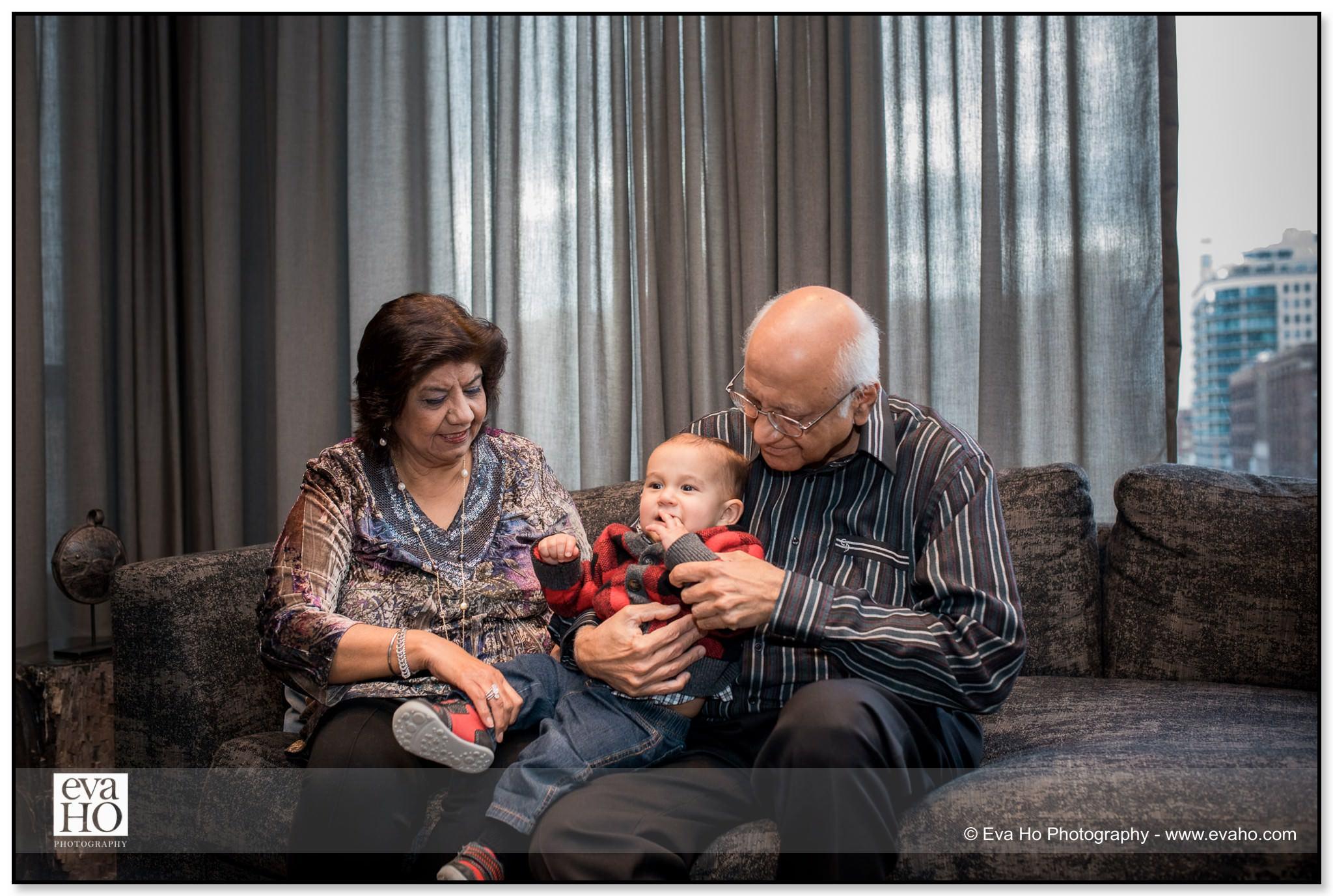 Grandparent portrait