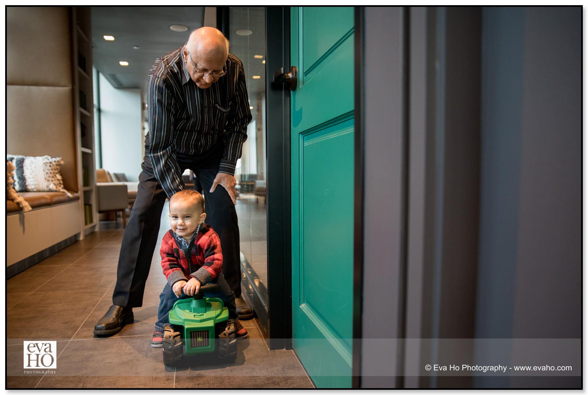 Grandfather & Grandson
