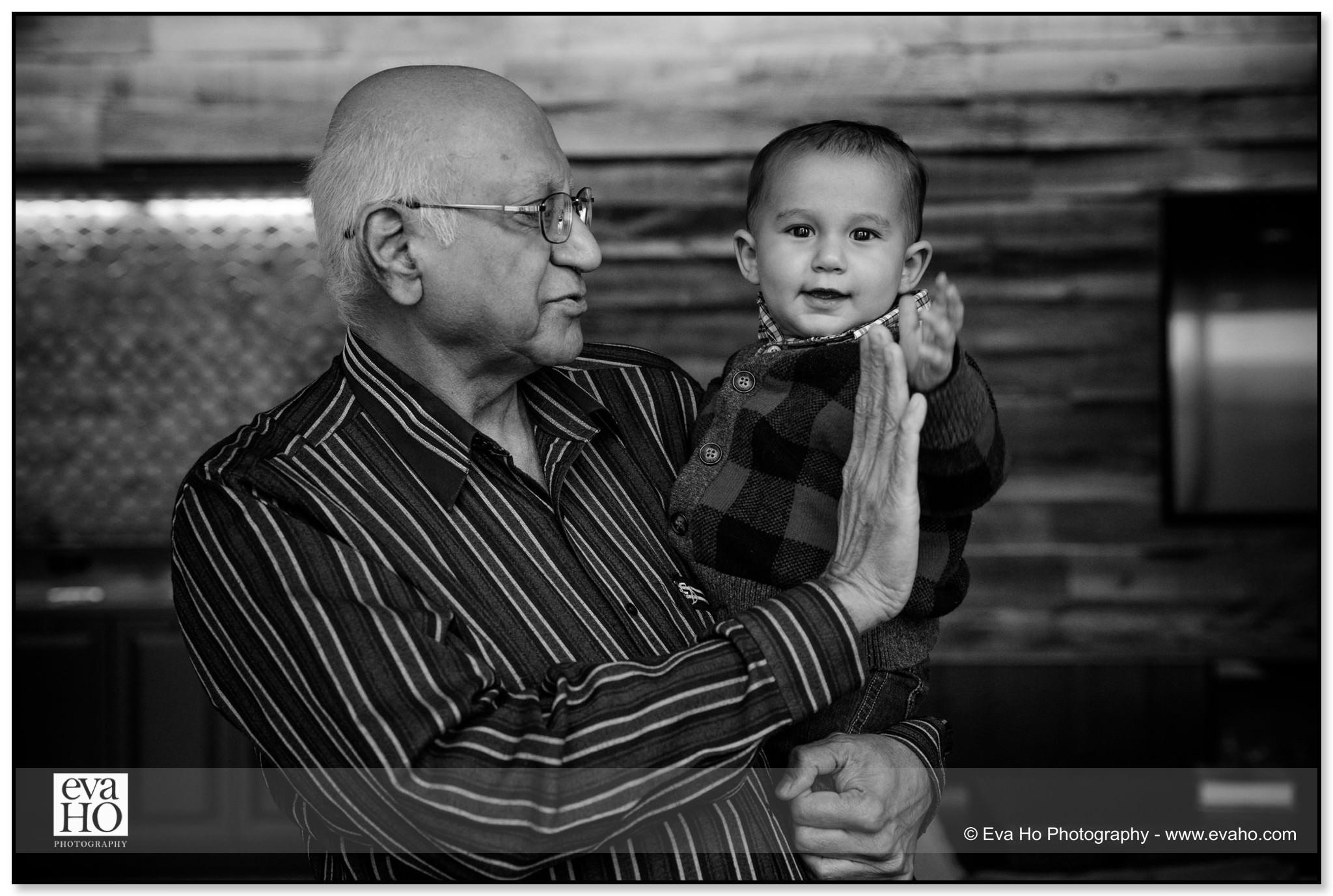 Grandfather & boy