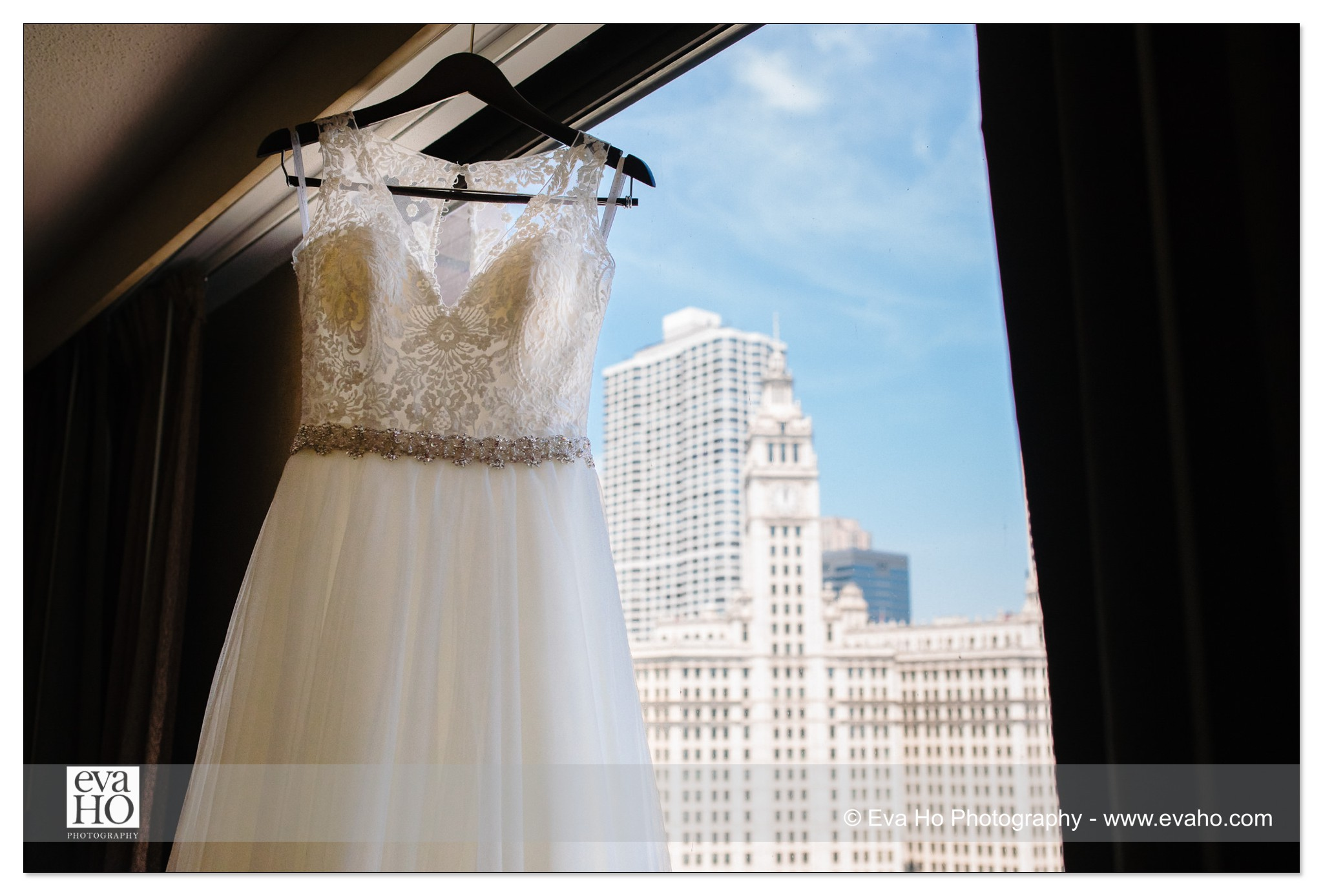 Wedding gown at Hyatt