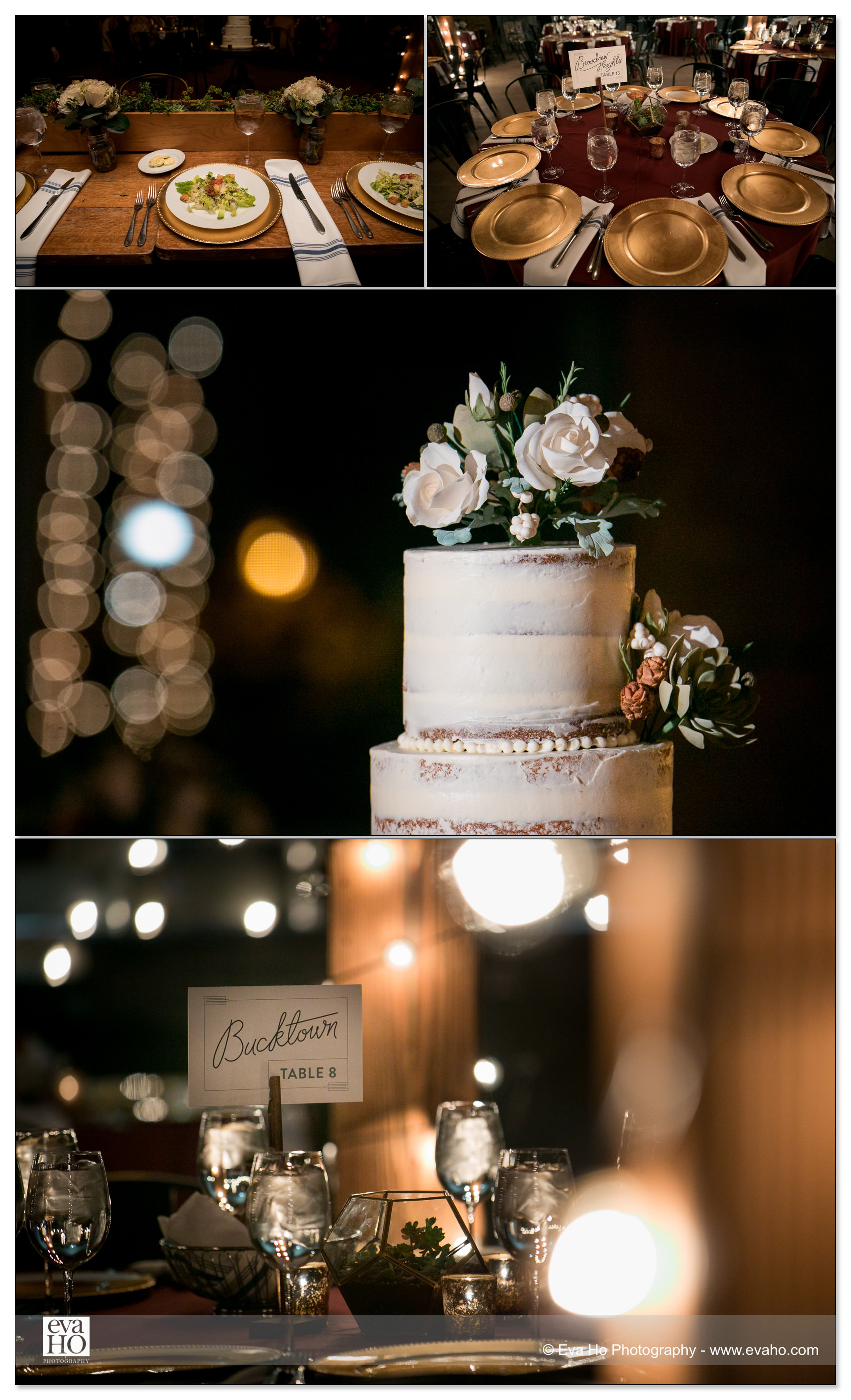 Industrial Rustic Wedding Reception
