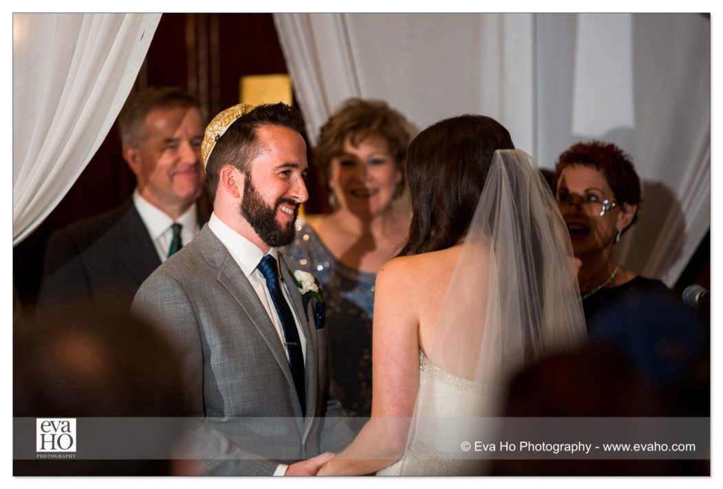 Jewish wedding ceremony