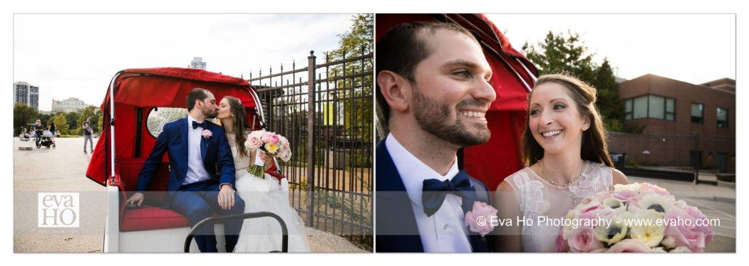 Bride & groom carriage