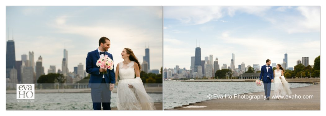 Wedding portraits in Chicago
