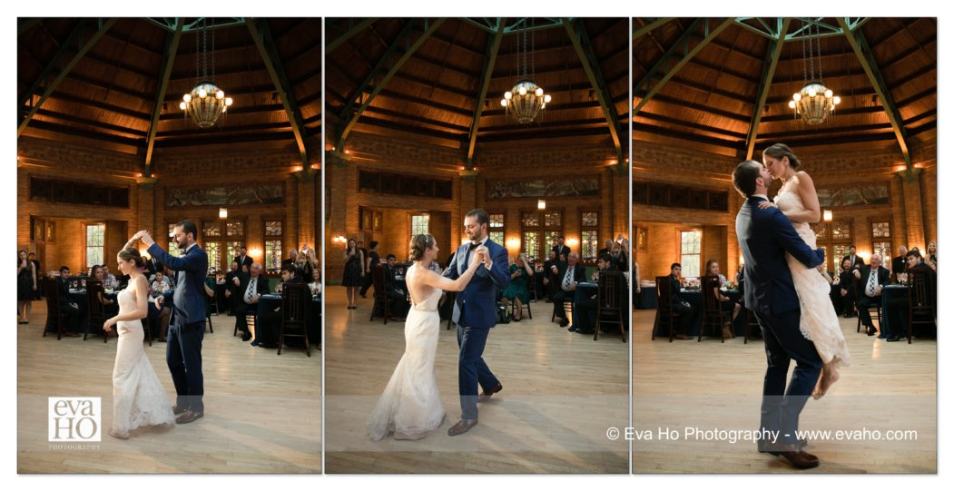 Cafe Brauer Wedding Reception